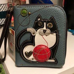 Chala wristlet meow.